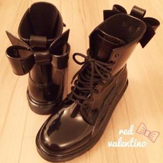 レッドヴァレンティノ(RED VALENTINO)の【piyo様専用】Valentino(レインブーツ/長靴)