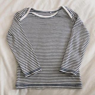 ネクスト(NEXT)のNEXT 長袖 12-18m Tシャツ ネクスト ボーダー(Tシャツ/カットソー)