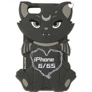 新品未開封 KILLSTAR・iPhoneケース 6/6s用 エモ 猫