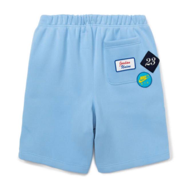 NIKE(ナイキ)のUnion JORDAN LEISURE SHORTS PSYCHIC BLUE メンズのパンツ(ショートパンツ)の商品写真