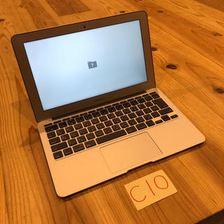 Mac (Apple) - SSD欠品 MacBook air 11インチ mid2012
