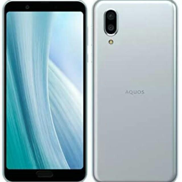 SHARP(シャープ)の国内版SIMフリー シャープ AQUOS sense3 plus SH-RM11 スマホ/家電/カメラのスマートフォン/携帯電話(スマートフォン本体)の商品写真