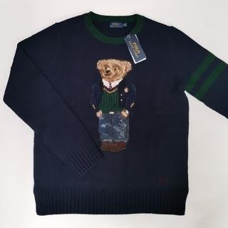 Ralph Lauren - Ralph Lauren ポロベア セーター レディース ネイビー 国内正規品