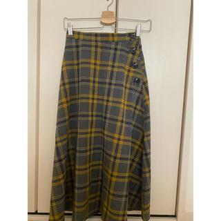 GU - GU  チェック スカート