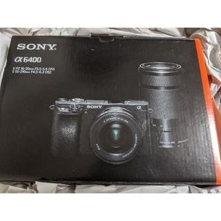 ソニー(SONY)の新品 SONY α6400  ボディ ブラック 特記あり(ミラーレス一眼)