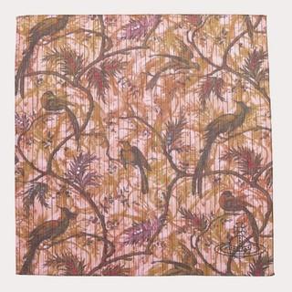 ヴィヴィアンウエストウッド(Vivienne Westwood)の🕊️パラダイスプリント🕊️大判ハンカチ定価2200円2020SSヴィヴィアン(ハンカチ)