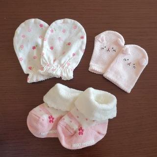 ミキハウス(mikihouse)の新生児用 靴下・ミトン(靴下/タイツ)