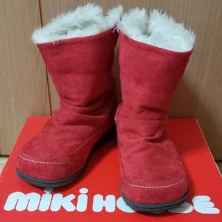 ミキハウス(mikihouse)のミキハウス ブーツ 18センチ(ブーツ)