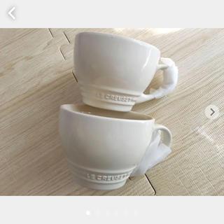 ルクルーゼ(LE CREUSET)のル・クルーゼ カプチーノマグ スープカップ クリーム(食器)