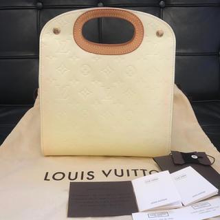 LOUIS VUITTON - 良品☆ ヴィトン  ヴェルニ メープルドライブ ハンドバッグ