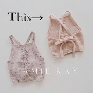 Caramel baby&child  - 【新品未使用】jamiekay ジェイミーケイ ニット トップス