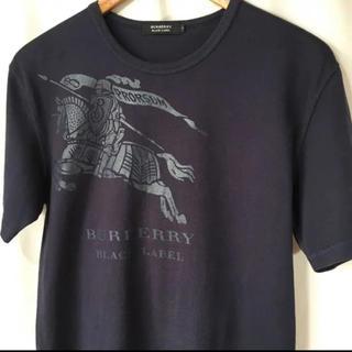 バーバリーブラックレーベル(BURBERRY BLACK LABEL)のバーバリーブラックレーベル Tシャツ ホースロゴ(Tシャツ/カットソー(半袖/袖なし))