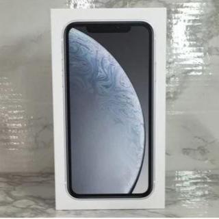新品未使用 iPhoneXR 64B ホワイト white