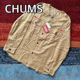 CHUMS - 未使用 CHUMS チャムス スカウト キャンプシャツ L ベージュ