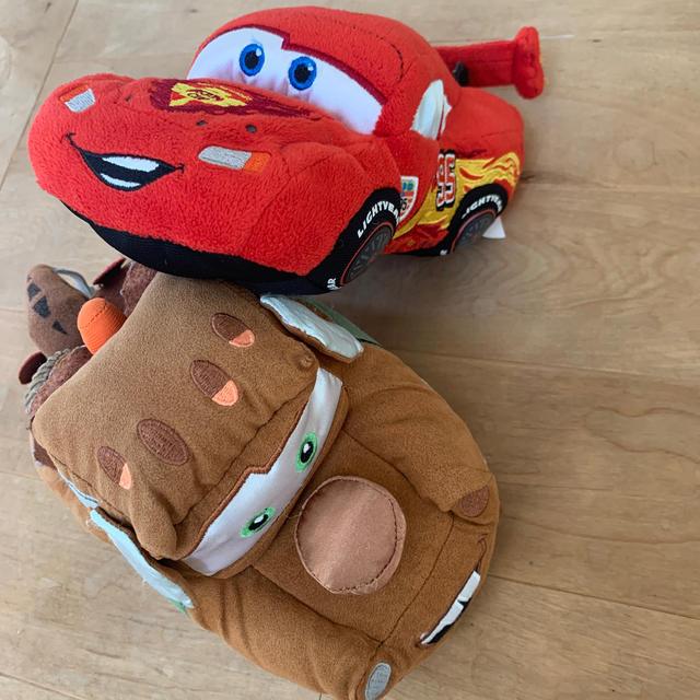 Disney(ディズニー)のカーズ ぬいぐるみ 2pセット エンタメ/ホビーのおもちゃ/ぬいぐるみ(ぬいぐるみ)の商品写真