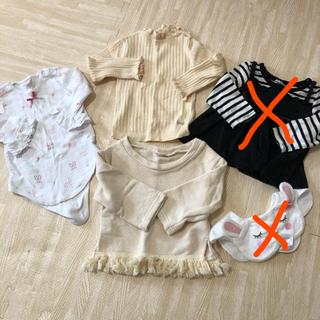 プティマイン(petit main)のベビー服まとめ売り 80 長袖 (その他)