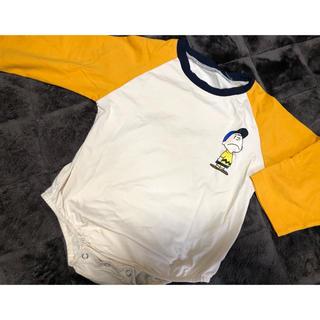 韓国子供服 チャーリーブラウン ロンパース