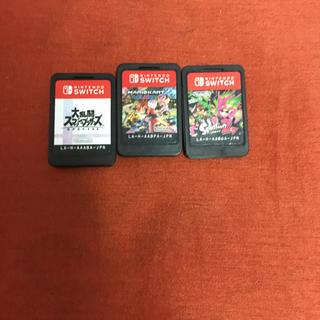 Nintendo Switch - スプラトゥーン2 マリオカート8 デラックス 大乱闘スマッシュブラザーズ
