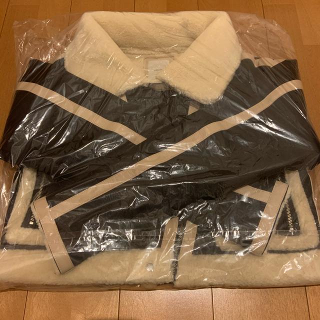 ALEXIA STAM(アリシアスタン)のjuemi ムートンジャケット レディースのジャケット/アウター(ムートンコート)の商品写真