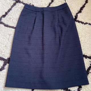 ユナイテッドアローズ(UNITED ARROWS)の美品 ユナイテッドアローズ 膝丈スカート スーツ(ひざ丈スカート)