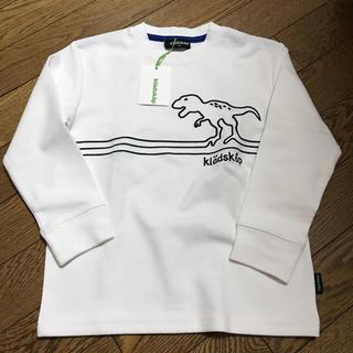 クレードスコープ(kladskap)のクレードスコープ 新品 恐竜 ロンT 110(Tシャツ/カットソー)