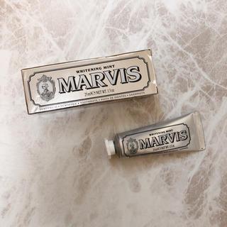 マービス(MARVIS)のMARVIS ホワイトニング歯磨き粉(歯磨き粉)