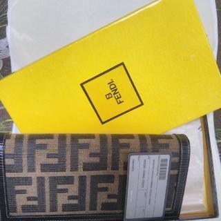 フェンディ(FENDI)の新品フェンディ長財布(長財布)