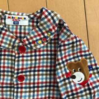 ミキハウス(mikihouse)のミキハウス 男児長袖シャツ  90cm(その他)