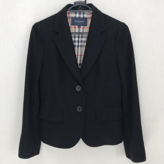 BURBERRY - Burberry London wool & angora jacket  38