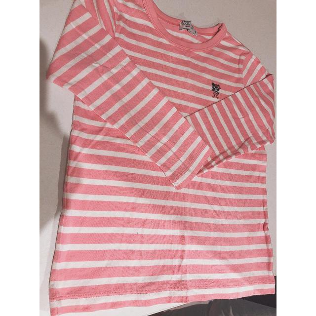 DOUBLE.B(ダブルビー)のDOUBLE.B ロンT 110cm キッズ/ベビー/マタニティのキッズ服女の子用(90cm~)(Tシャツ/カットソー)の商品写真