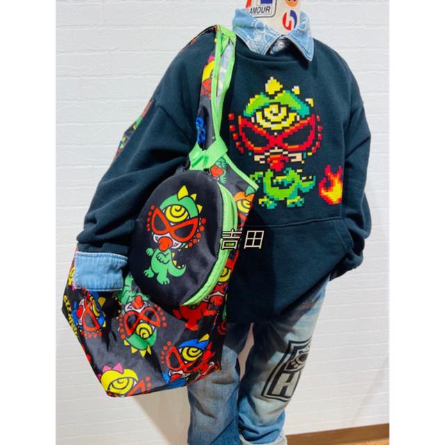 HYSTERIC MINI(ヒステリックミニ)の  ヒステリックミニ ショッピングエコバッグ(ポーチ付き)1点 キッズ/ベビー/マタニティのこども用ファッション小物(その他)の商品写真