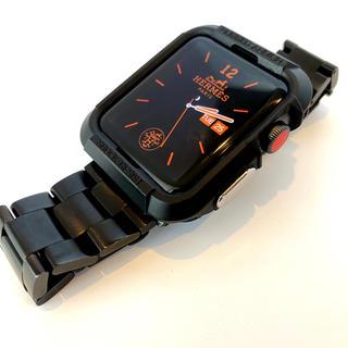 アップル(Apple)の⑤【海外人気商品】ブラック/44mm アップルウォッチ  プロテクター ケース(その他)