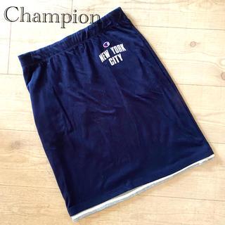 チャンピオン(Champion)のChampion リバーシブルスエットスカート L(ひざ丈スカート)