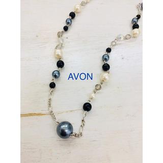 エイボン(AVON)のAVON エイボン シルバーカラー ロングネックレス。(ネックレス)