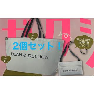 DEAN & DELUCA - ゼクシィ 11月号 付録  DEAN&DELUCA エコバッグ 2個セット
