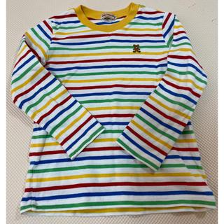 ミキハウス(mikihouse)のミキハウス ロンT ボーダー 110(Tシャツ/カットソー)
