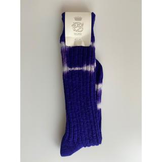 ポールスミス(Paul Smith)のポールスミスコレクション 靴下 ソックス タイダイ  紫色(ソックス)