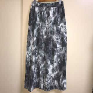 ジーナシス(JEANASIS)の☆JEANASIS☆タイダイプリーツスカート(ロングスカート)