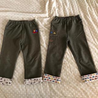 ミキハウス(mikihouse)のミキハウス ズボン 100 2枚セット(パンツ/スパッツ)