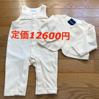 ミキハウス(mikihouse)の☆タグ付き未使用品☆ ミキハウス 新生児ロンパース80(ロンパース)