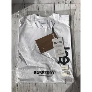 BURBERRY - バーバリー EMERSON TB Tシャツ WHITE レディース S