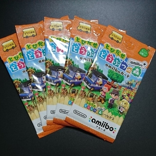 任天堂 - とびだせ  どうぶつの森 amiibo+ カード   どう森アミーボカード