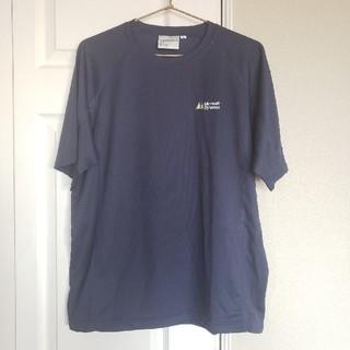 マイクロソフト(Microsoft)の【非売品】Microsoft ロゴTシャツ Lサイズ(Tシャツ/カットソー(半袖/袖なし))