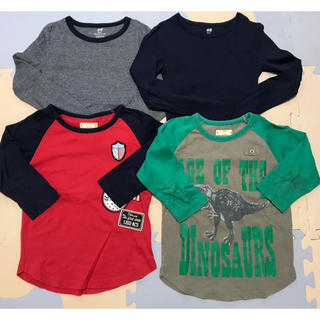 H&M - 男の子 長袖Tシャツ 4枚セット