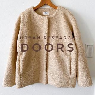 DOORS / URBAN RESEARCH - アーバンリサーチドアーズ ボア ブルゾン ジャケット レディース