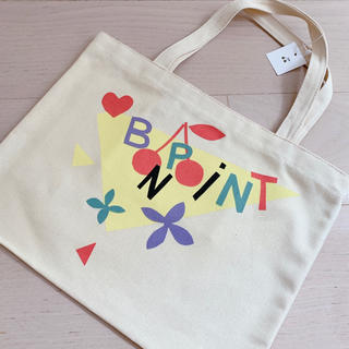 ボンポワン(Bonpoint)の値下🍒ボンポアン  チェリーレッスンバック🍒カラフルBonpoint(トートバッグ)