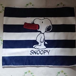 スヌーピー(SNOOPY)のスヌーピーフェイスタオル(タオル/バス用品)