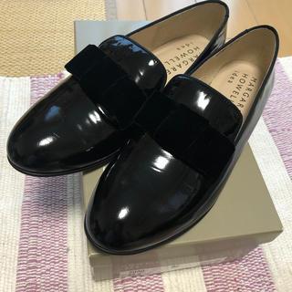 マーガレットハウエル(MARGARET HOWELL)のマーガレットハウエル 24.5 リボンシューズ(ローファー/革靴)