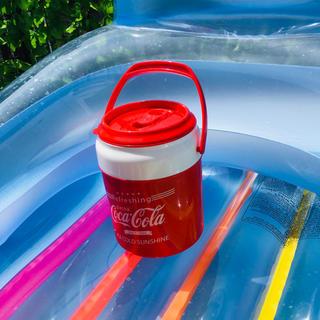 コカコーラ(コカ・コーラ)の新品未使用 コカコーラ Coca-Cola 1リットル クーラーボックス(その他)