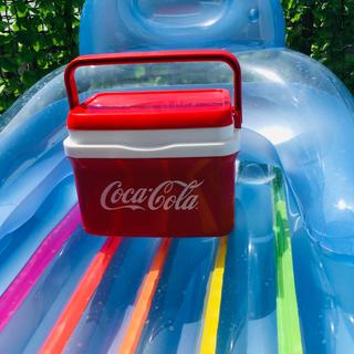 コカコーラ(コカ・コーラ)の新品未使用 コカコーラ Coca-Cola 7リットル クーラーボックス 赤(その他)
